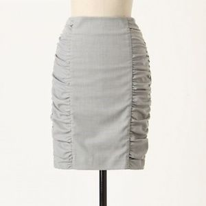 CARTONNIER Gray Acting Out Pencil Skirt 2 XS